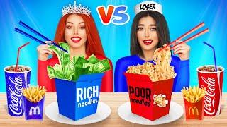 Rich Popular Vs Broke Unpopular Girls || Types Girls in School || Funny Battle by RATATA POWER