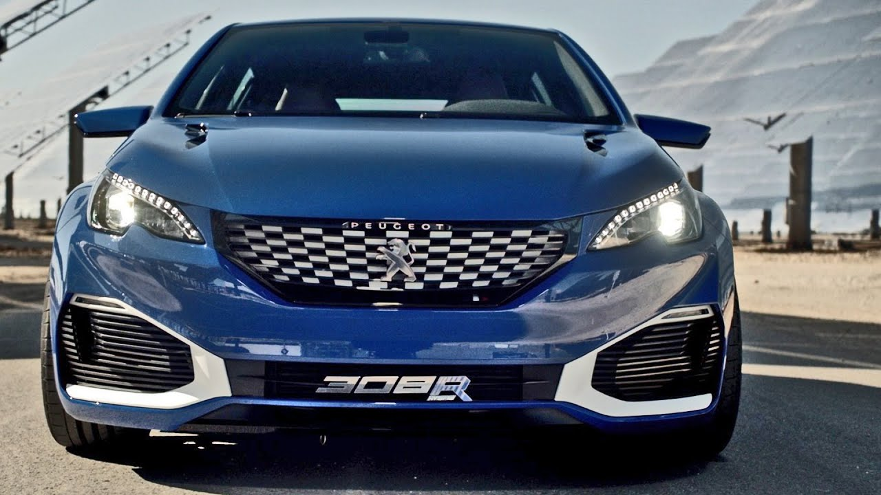 Peugeot 308 R HYbrid (500-HP) Official Trailer