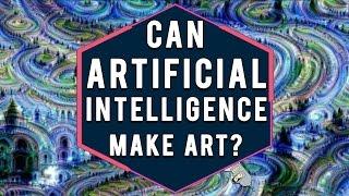 Can an Artificial Intelligence Create Art?