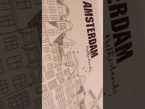Around The World Giant Cityscape Coloring Book Thingy Cause Its A