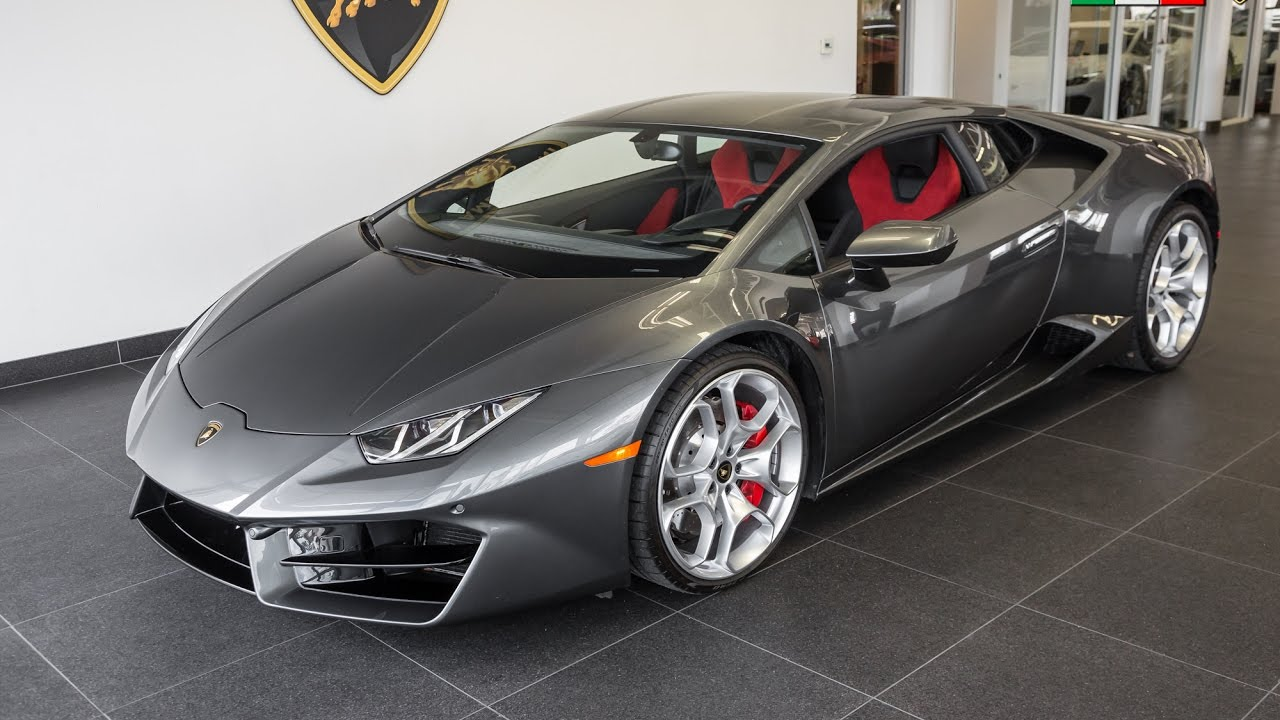 2016 grigio lynx lamborghini huracan lp580 2 coupe youtube. Black Bedroom Furniture Sets. Home Design Ideas