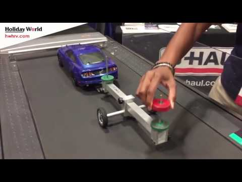 The Importance Weight Distribution when pulling a trailer or camper