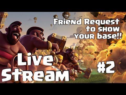 Send me Friend Request & I will show your base in my Upcoming Video # | Clash of Clans INDIA HINDI