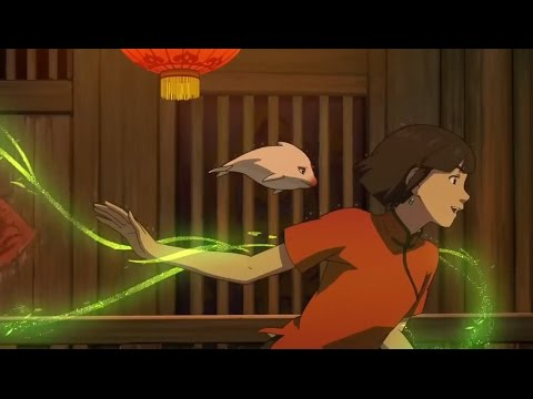 New chinese animation movie big fish begonia releasing for Fish cartoon movie