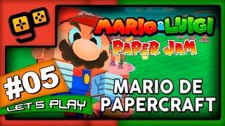 Mario & Luigi Paper Jam - Parte 5 - Mario de PaperCraft