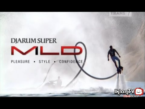 Iklan Djarum Super Mild edisi Flyboard