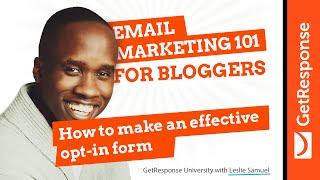 How to Make an Effective Opt-in Form | Leslie Samuel | Email Marketing 101 for Bloggers