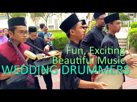 Malay Wedding Drummers Singapore