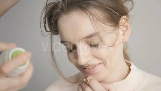 Woman Uses a Virtual Reality - (people) Stock Footage | Mega Pack +40 items