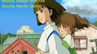 Música que encerra o filme A Viagem de Chihiro (Spirited Away - 200...