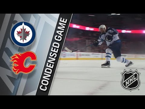 Winnipeg Jets vs Calgary Flames – Jan. 20, 2018 | Game Highlights | NHL 2017/18. Обзор матча