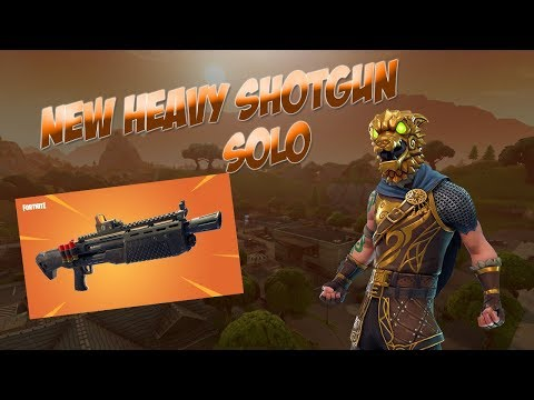 *NEW* HEAVY SHOTGUN - DOUBLE PUMP (Fortnite LIVE w/ Dark Void)