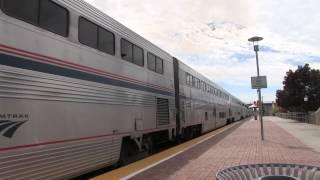 Amtrak Southwest Chief: Albuquerque, New Mexico