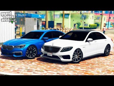 РЕАЛЬНАЯ ЖИЗНЬ В GTA 5 - КУПИЛИ MERCEDES S63 AMG И BMW M760! ДРАГ НА ТРАССЕ! 🌊ВОТЕР