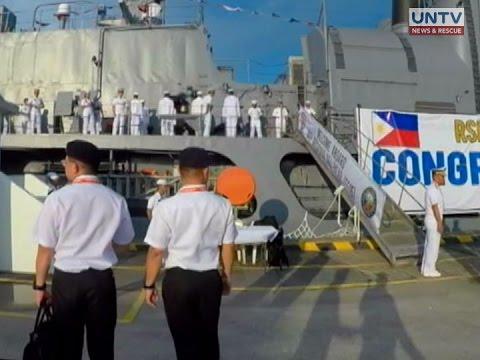 Makabagong naval technologies, ipinamalas sa 11th Int'l Maritime and Defense Exhibition