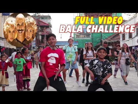 nepalese-kids-do-#thebalachallenge-with-foreigner-|-crazy-public-reaction-|-akshay-kumar