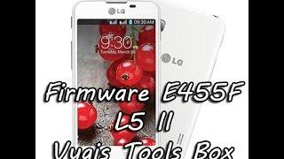 Firmware E455F Vygis Tools Box LG L5 II Software|| Senha ||