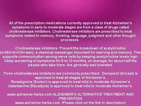 ALZHEIMER'S DRUGS FOR AGITATION