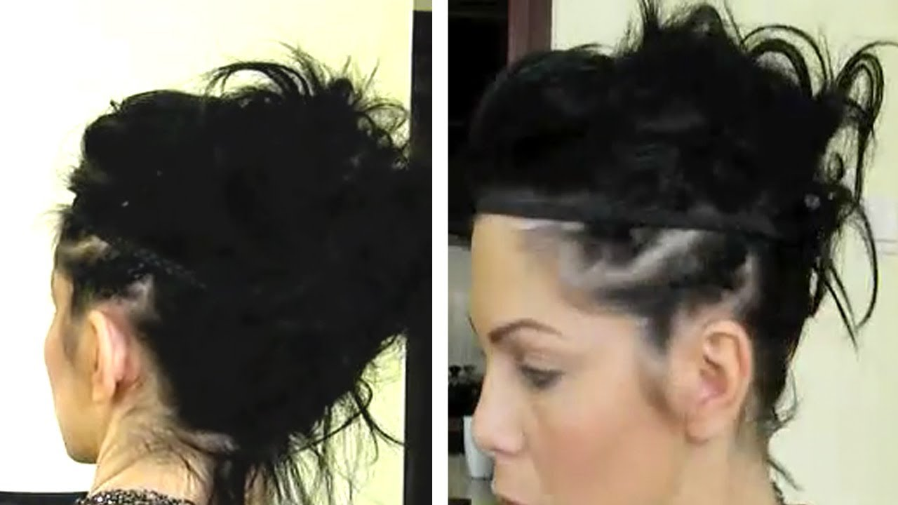 Tuto Coiffure Tendance Cheveux Courts Youtube