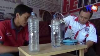 Membuat Penyaring Asap Kebakaran dari Botol Air Mineral
