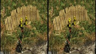 GTA 5 Test 3D правильная загрузка 3D видео на ютуб, ffmpeg