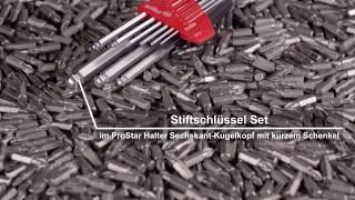 Wiha Sechskant-Kugelkopf Stiftschlüsselsatz für Engstellen im ProStar ...