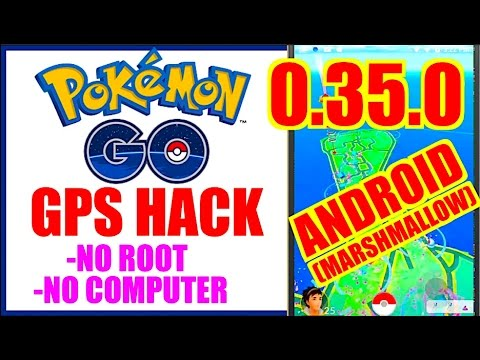 POKEMON GO ANDROID HACK 0.35.0 (NO ROOT + NO COMP) Tap To Walk & Teleport MARSHMALLOW 6.0