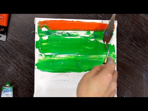 Bird drawing / Speed painting / Acrylic for beginners / Step by step / Canvas / Art challenge #5