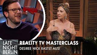 Desiree Nick Rastet Aus: Promis Unter Palmen | Masterclass Realitytv | Late Night Berlin | Prosieben