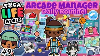 Toca Life World Arcade Manager Daily Routine 👾 9