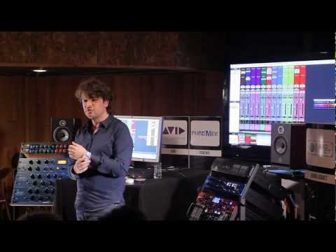Mezcla en vivo de una canción de Will Knox por Fab de Puremix con Pro Tools HDX en Audiodays