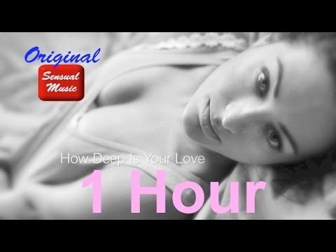 Sensual saxophone music instrumental jazz: How Deep Is Your Love (One Hour Video)