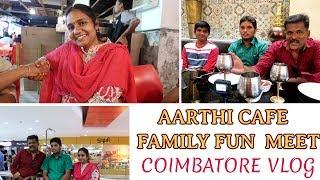 Finally met aarthi Cafe family| பாட்டு விருந்து
