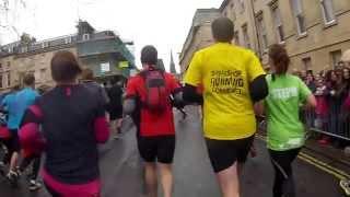 Bath Half Marathon 2014.