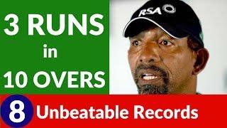 8 Unbeatable Cricket Records!
