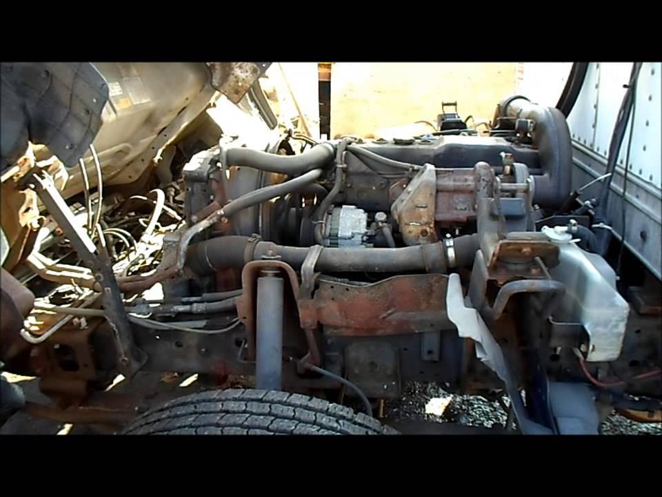1997 ISUZU NPR 4BD2 39L ENGINE  YouTube