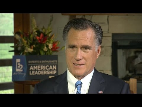 Mitt Romney full CNN interview (part 1)