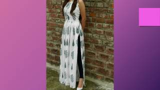 Top 100 Fashionable Long Dress Designs Of 2017