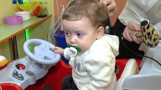 видео детская парикмахерская киев
