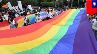 vuclip Taiwan same-sex marriage: Taiwan could be first in Asia to recognize gay marriage - TomoNews