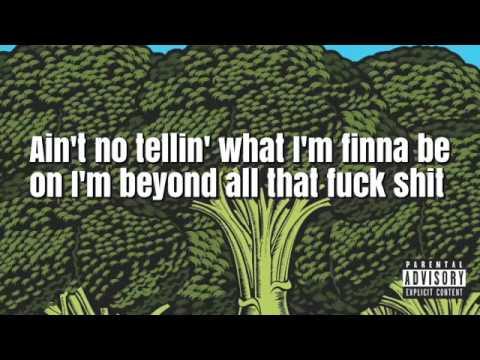 Lyric video for broccoli