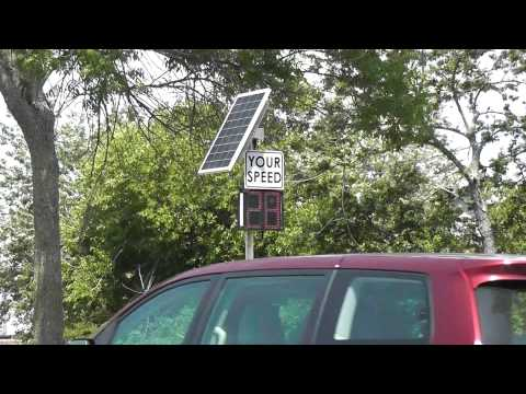 Radar Speed Display Installation - Bradley Beach, NJ