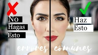 Makeup Mistakes/ Errores Comunes de Maquillaje, Tu Haces Esto?- karely