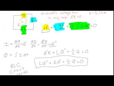 Solving RLC Series Circuits