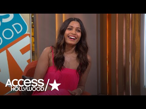 Freida Pinto Reveals She Is Decluttering Her Life For A Good Cause| Access Hollywood