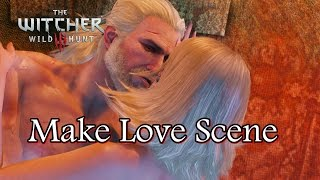 The Witcher 3 Wild Hunt Make Love Scene