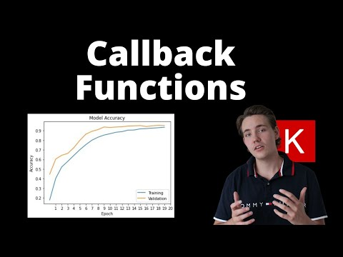 Callback Functions When Training Neural Networks in Keras and TensorFlow