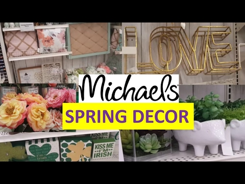 Spring Home Decor Michaels Crafts Youtube