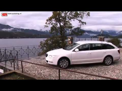 Skoda Superb Combi review