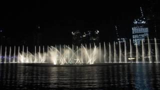 Dubai fountain 27.5.2016
